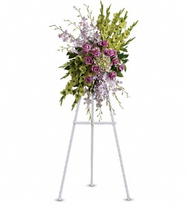 Heavenly Sentiments Spray in Newark CA, Angels 24 Hour Flowers<br>510.794.6391