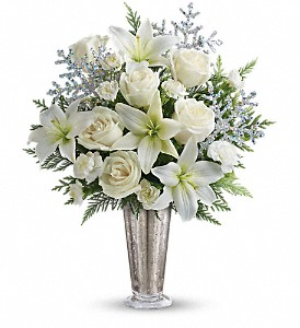 Teleflora's Winter Glow DX in Houston TX, Simply Beautiful Flowers & Events
