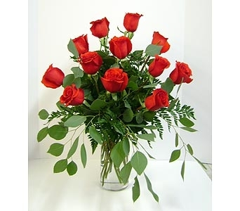 Classic Large Red Roses in Herndon VA, Herndon Florist, Inc