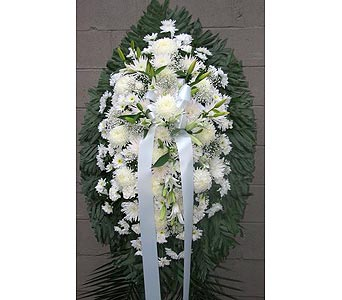 All White in Maspeth NY, Grand Florist
