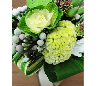 Going Green Bouquet in Baltimore MD, The Flower Cart, Inc