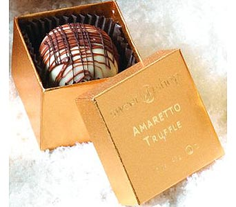Single Truffle Gift Box in New Haven CT, The Blossom Shop