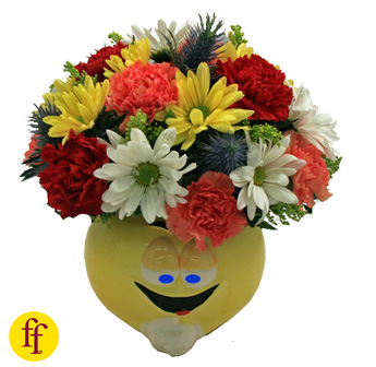 Flowerfolks: Baby Blues, Mixed Seasonal in Newport News VA, Pollards Florist