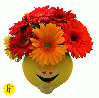 Flowerfolks: Gooey eyed Gerbs in Newport News VA, Pollards Florist