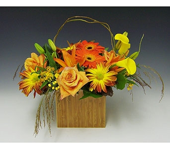 Autumn Warmth in Kirkland WA, Fena Flowers, Inc.