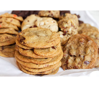 Baker''s Large Cookie Assortment in Norristown PA, Plaza Flowers