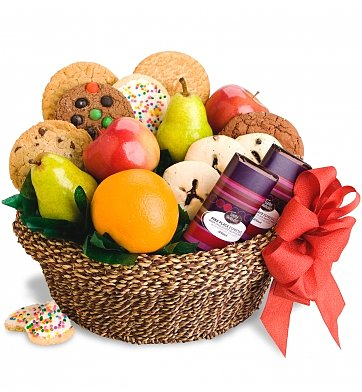 Fresh Fruit & Cookies Basket in Perrysburg & Toledo OH  OH, Ken's Flower Shops
