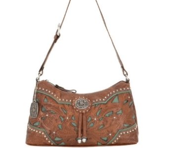 Zip-Top Shoulder Bag in Concordia KS, The Flower Gallery
