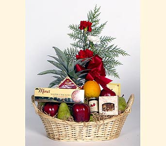 Fruit & Gourmet Basket in Southampton PA, Domenic Graziano Flowers