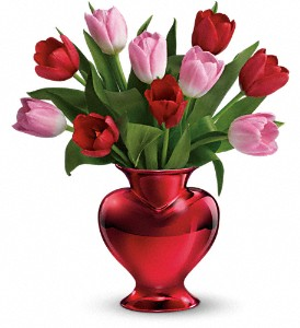 Teleflora's Hearts in Bloom in West Hill, Scarborough ON, West Hill Florists