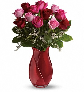Teleflora's Say I Love You Bouquet - Dozen Roses in New York NY, Fellan Florists Floral Galleria