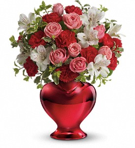 Teleflora's Love Shines Bright Bouquet in Ft. Lauderdale FL, Jim Threlkel Florist