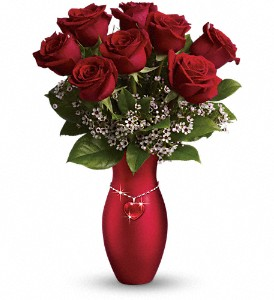 Teleflora's All My Heart Bouquet - Red Roses in Silver Spring MD, Colesville Floral Design