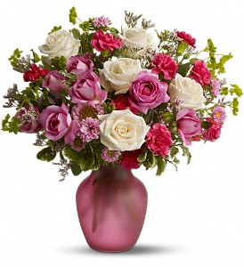Rose Medley in San Diego CA, <i><b>Edelweiss Flower Salon  858-560-1370</i></b>