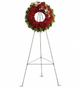 An Unbreakable Bond Wreath in Washington DC, Capitol Florist