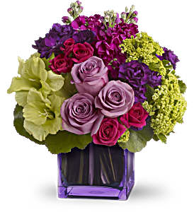 Dancing in the Rain Bouquet by Teleflora in Derry NH, Backmann Florist