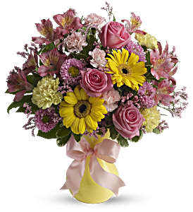 Darling Dreams Bouquet by Teleflora in Chicago IL, Yera's Lake View Florist