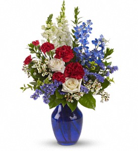 Sea to Shining Sea Bouquet in Corona CA, AAA Florist