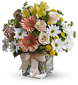 Teleflora's Walk in the Country Bouquet in Woburn MA, Malvy's Flower & Gifts