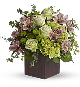 Teleflora's Tuscan Morning Bouquet in Birmingham MI, Tiffany Florist