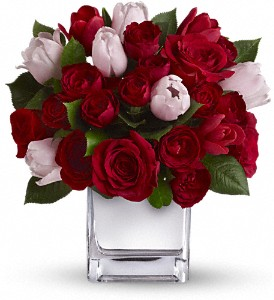 Teleflora's It Had to Be You Bouquet in San Diego CA, <i><b>Edelweiss Flower Salon  858-560-1370</i></b>