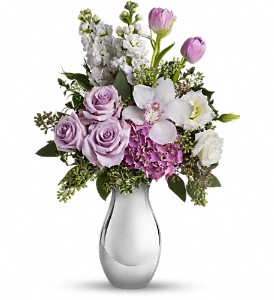 Teleflora's Breathless Bouquet in Waterbury CT, The Orchid Florist