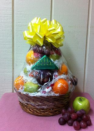 Stein Fruit Basket in Burlington NJ, Stein Your Florist
