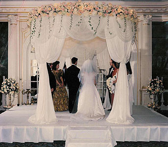 Wedding in New York NY, Fellan Florists Floral Galleria