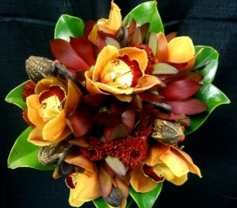 Woodsy Elegance Autumn Wedding Bouquet in Portland ME, Dodge The Florist