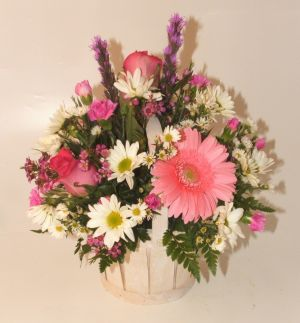 Basket of Cheer in Salisbury MD, Kitty's Flowers