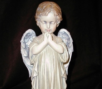 Praying Angel Boy in Oxford MI, A & A Flowers