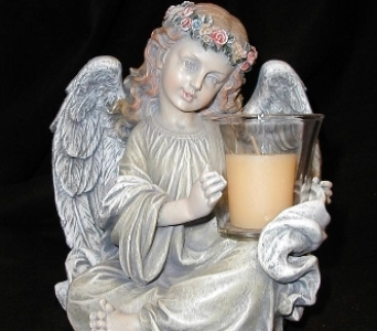 Angel Votive Holder in Oxford MI, A & A Flowers