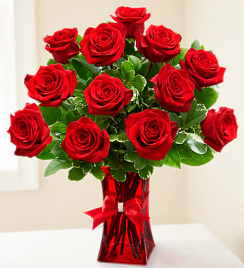 Ruby Red Roses and Rhinestones in Snellville GA, Snellville Florist