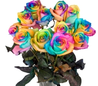 Happy Roses in New Rochelle NY, Enchanted Flower Boutique