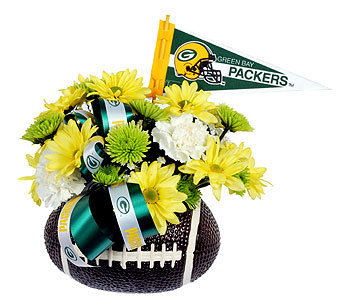 Packer Football in Madison WI, Felly's Flowers