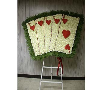 Cards-Royal Flush in Chicago IL, Soukal Floral Co. & Greenhouses