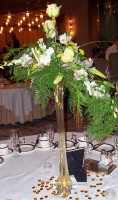 Copper and Green Elegance in Waukegan IL, Larsen Florist