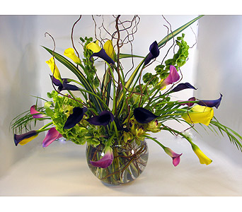 Huddart Mini Calla Lily Bouquet in Salt Lake City UT, Huddart Floral