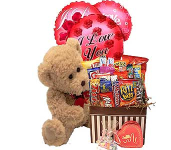 Sweetheart Snacks Bundle in Birmingham AL, Norton's Florist