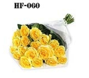 18 Roses - Yellow - Wrapped in Cello in Norwalk CT, Bruce's Flowers & Greenhouses