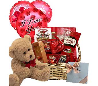 Gourmet Chocolates Gift Basket Bundle in Birmingham AL, Norton's Florist