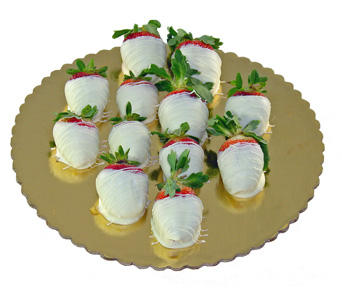 White Chocolated Covered Strawberries! in Baltimore MD, Raimondi's Flowers & Fruit Baskets