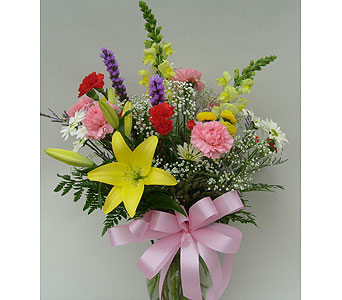 Spring Arrangement in Utica NY, Chester's Flower Shop And Greenhouses
