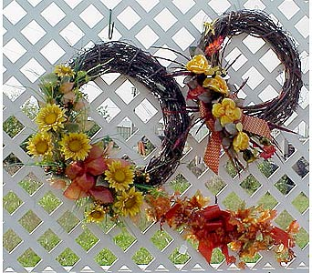 Grapevine Wreaths in West Helena AR, The Blossom Shop & Book Store