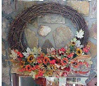 Grapevine Wreath in West Helena AR, The Blossom Shop & Book Store