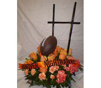 IN MEMORY OF COACH in Hanover PA, Country Manor Florist