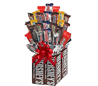 Hershey Chocolate Bouquet in Birmingham AL, Norton's Florist