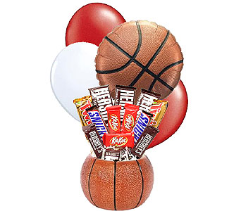 Alabama Basketball Candy Bouquet in Birmingham AL, Norton's Florist