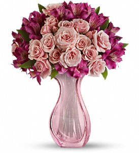 Teleflora's Pink Fire Bouquet in Indio CA, The Flower Patch Florist