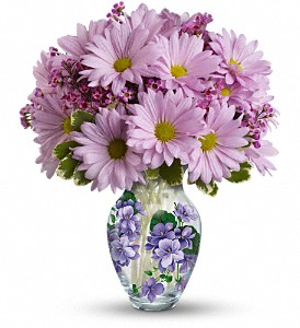 Teleflora's Very Violet Bouquet in Winston-Salem NC, Company's Coming Florist